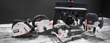 Power Saws Routers & Joiners