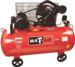 COMPRESSOR MATAIR 4KW/5.5HP 250L 380V BD